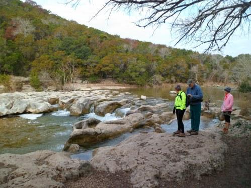 Looking at Sculpture Falls