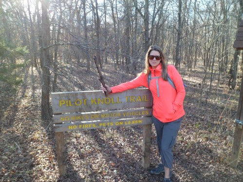 official trail head