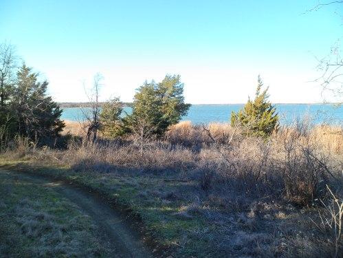 Overlooking Joe Pool Lake