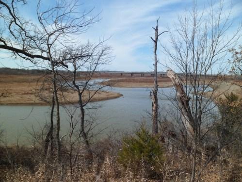 overlooking Lake Lewisville
