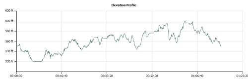elevation profile DORBA