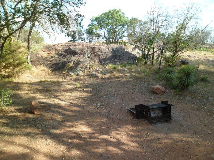 our campsite, #328