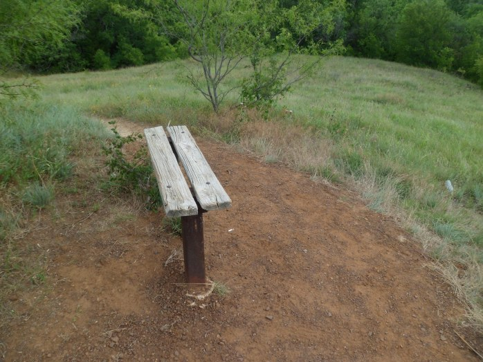 bench at viewpoint