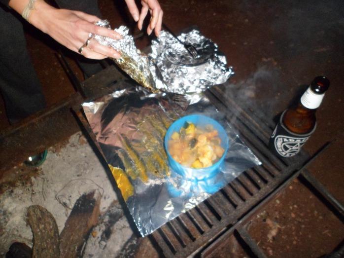 Wonderful camp dinner