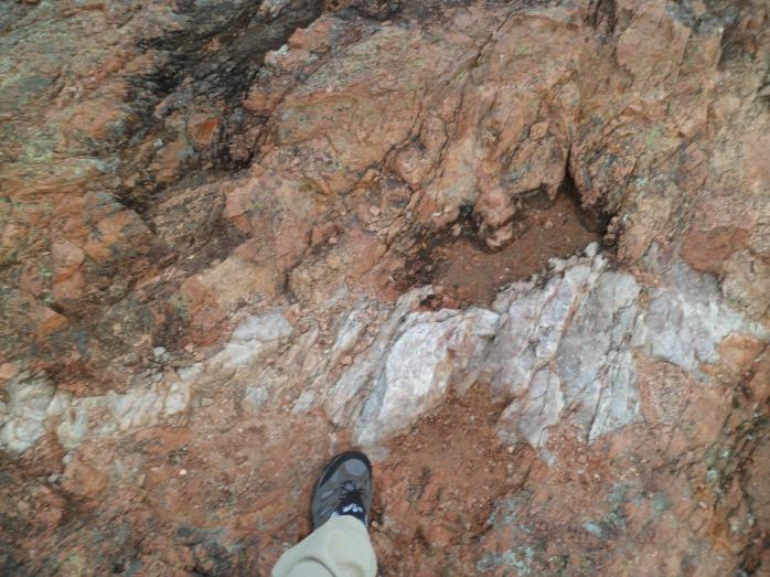 vein of rock