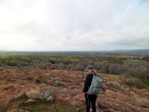 great views at the high point of the hike