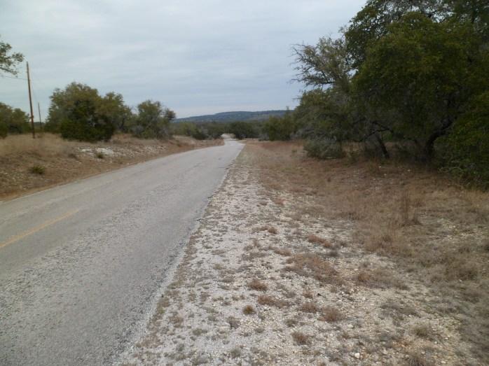 road walk back