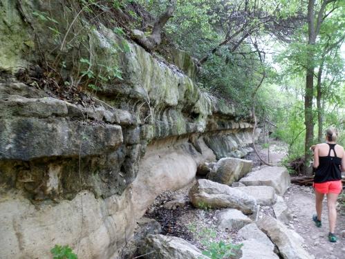 drippy rocks