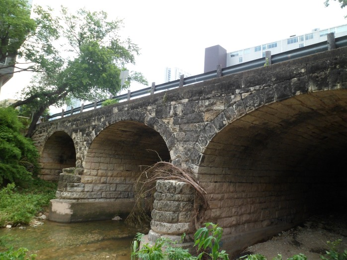 6th Street bridge, built in 1887
