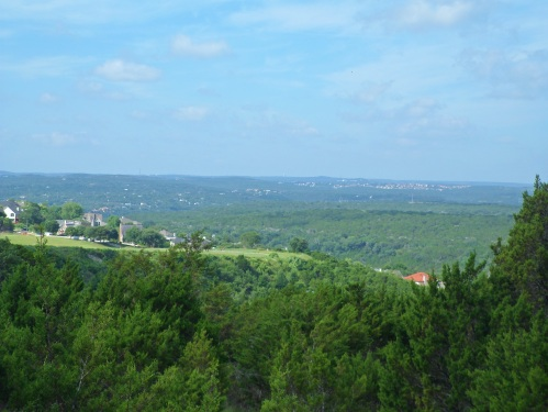 River Place golf course and Hill Country