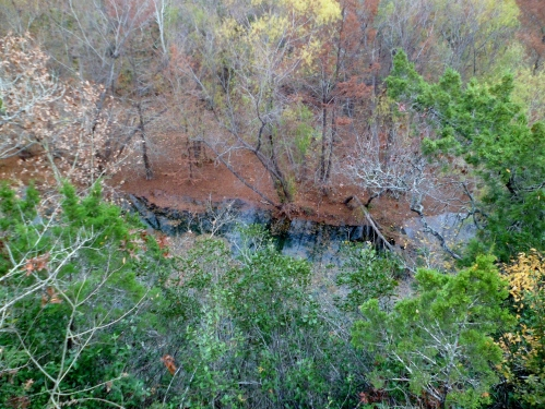 overlooking Bull Creek