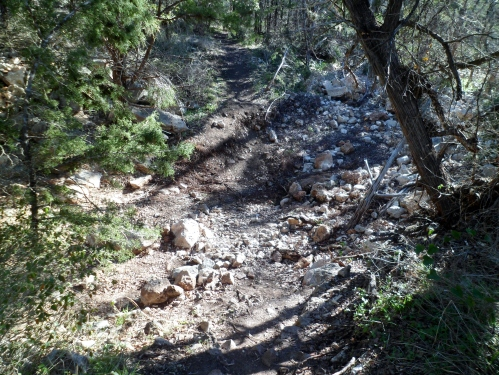 dry Pandemonium Creek