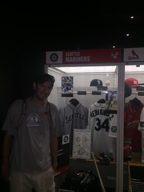 Seattle Mariners locker