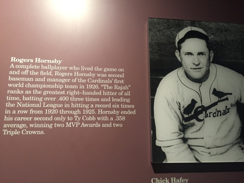 Rogers Hornsby - 2nd best batting average ever and buried just outside of Austin, along with the rest of the Hornsbys