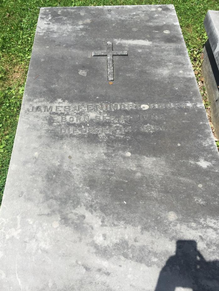 James Fenimore Cooper grave